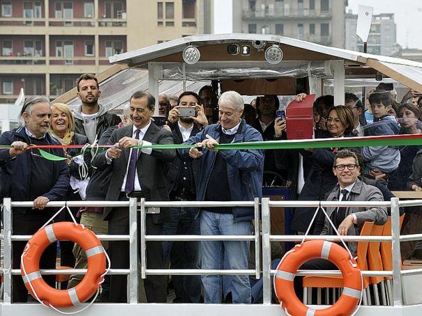 Milan's Darsena reopened