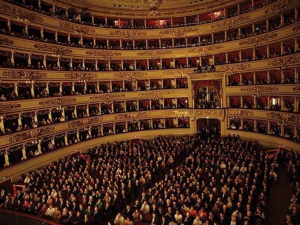 Visit to La Scala museum