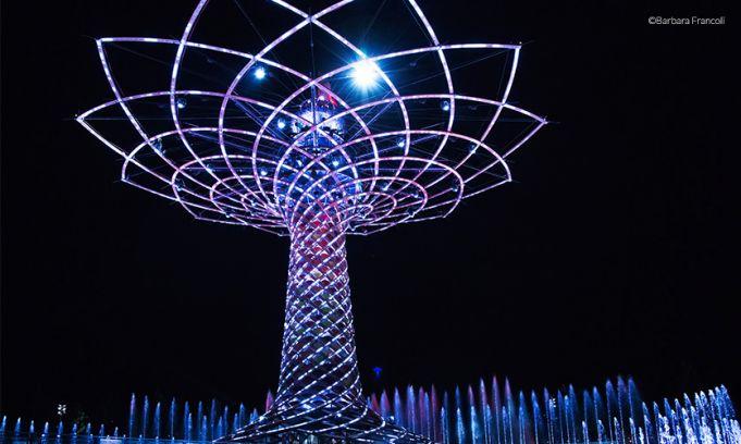 Expo2015 midnight opening