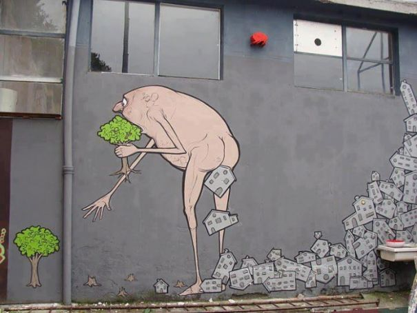 Milan makes walls available for street art