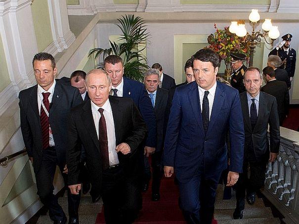 Putin to visit Expo with Renzi