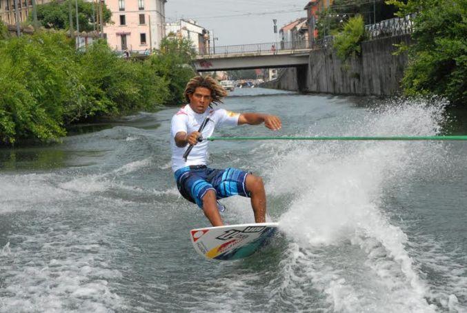 Water sports at Darsena