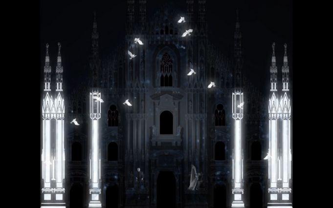Milan Duomo videomaps its history