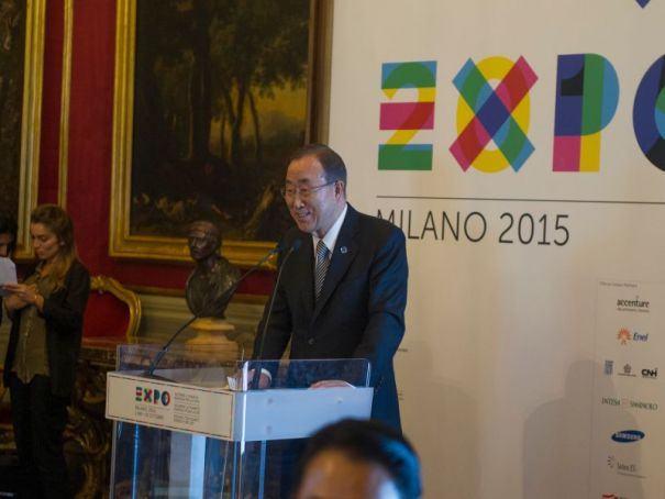 UN's Ban Ki-Moon to visit Expo Milan 2015