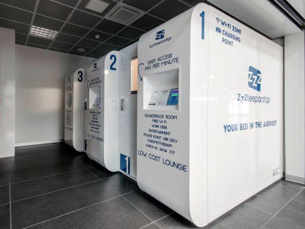 Bergamo airport launches sleep-and-go