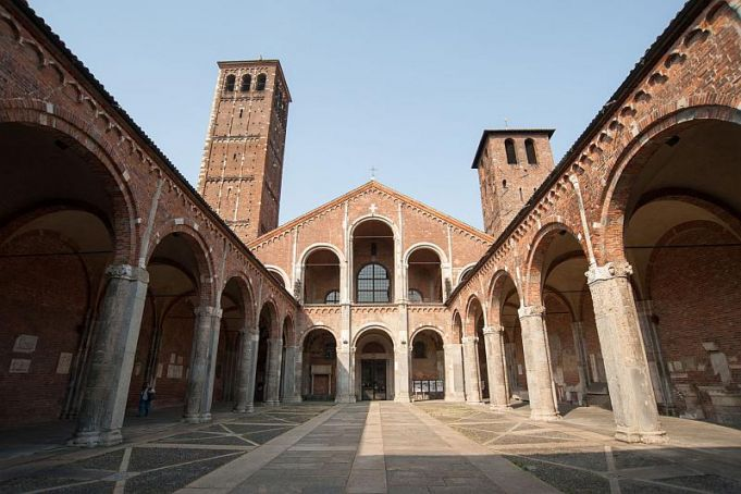 Milan's S. Ambrogio basilica offers guided visit