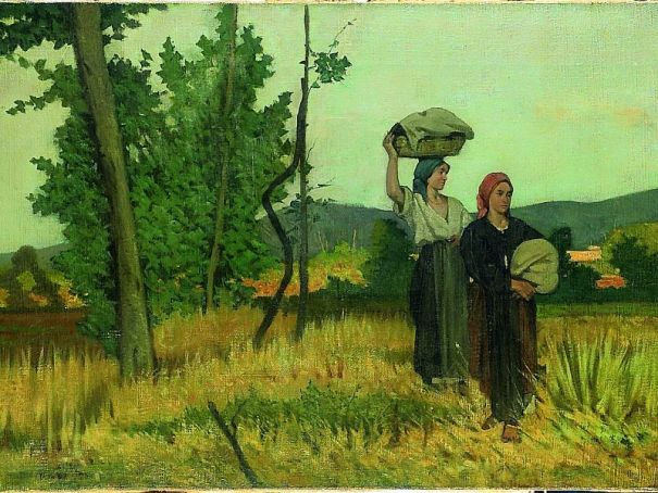 The charm of the Macchiaioli in Milan