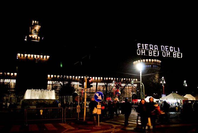 Oh bej, Oh bej market starts Milan's Christmas calendar