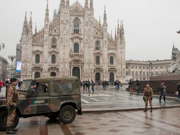 Milan gets terrorist warning