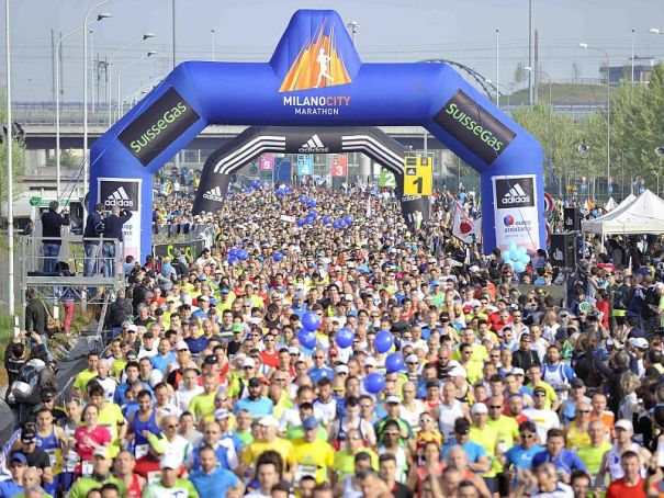 Milan runners on the road again