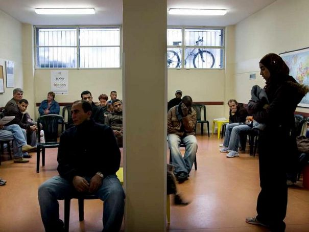 "Milan discovers ""business"" of asylum seekers"