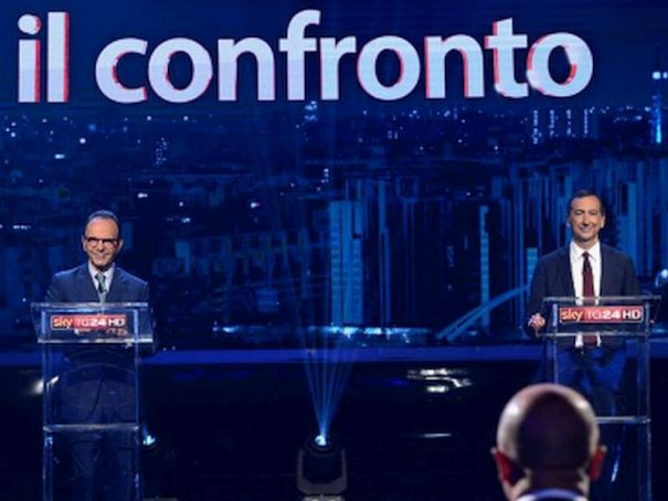 Milan mayoral candidates debate issues on TV