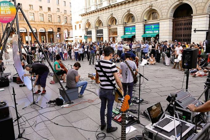 MakeMusicMilan! all around the city