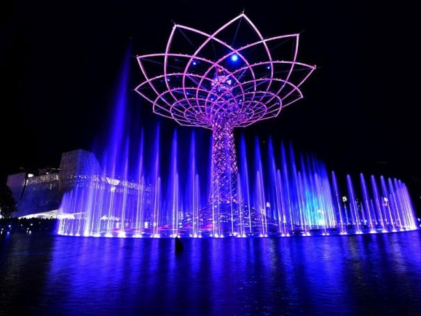 Milan Expo's Tree of Life to shine again