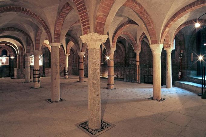 Visit underground Milan