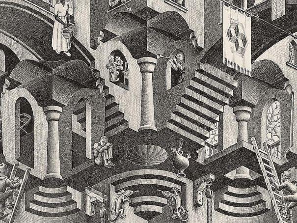 Escher at Milan's Royal Palace