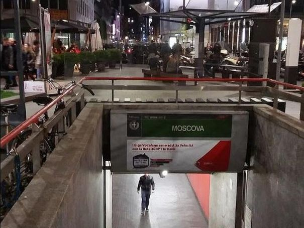 Milan's M2 Moscova station closed