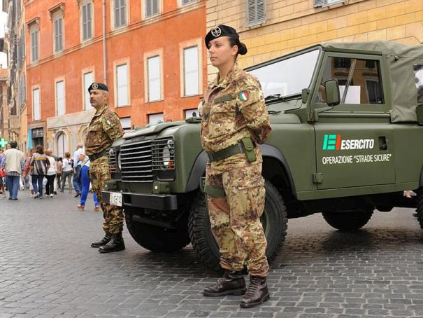 Maximum security at Milan's Expo 2015