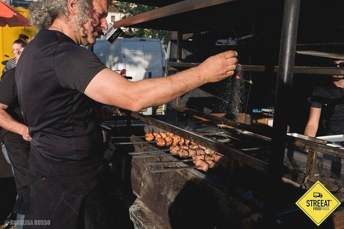 Street food festival in Milan