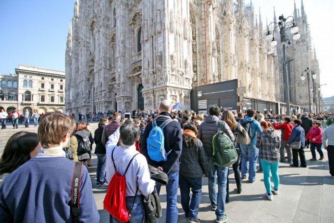 Milan has more visitors than Rome