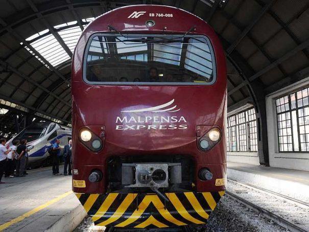 Milan Malpensa airport gets new train station
