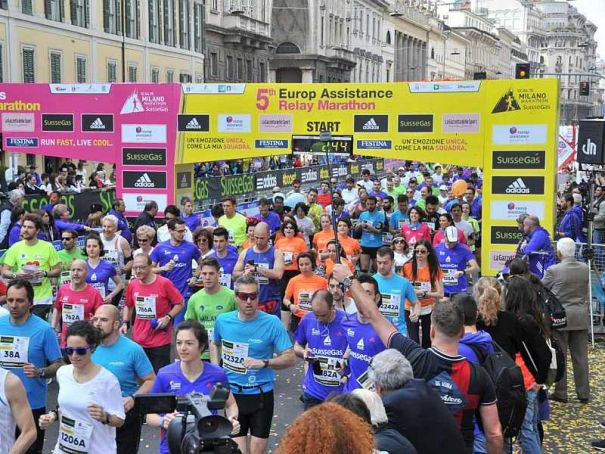 17th Milan Marathon runs on Sunday 2 April