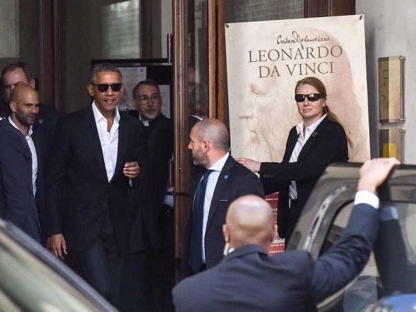Obama visits Milan for Global Food Innovation summit