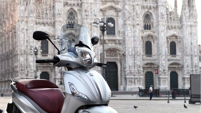 Driving in Milan VS driving in Rome (ITA)