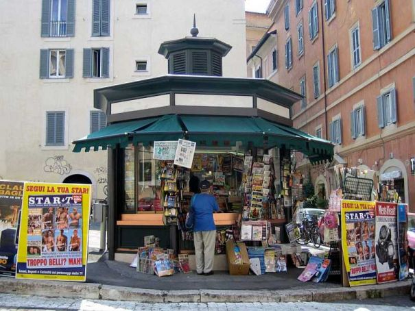 Milan newsstands to become info points