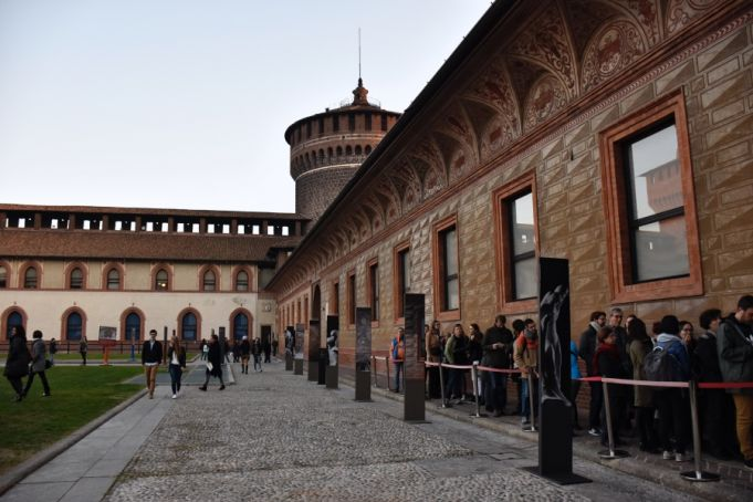 See Michelangelo's last work inside the Sforza Castle