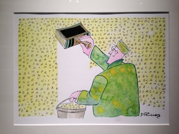 Illustrated journalism at the Triennale di Milano
