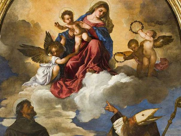Titian's Holy Conversation on view in Milan