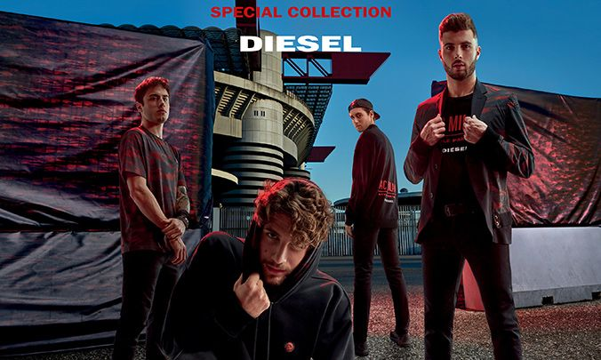 Catching Up with the New Diesel x AC Milan Special Collection