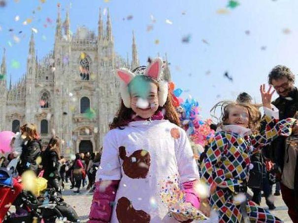 Milan celebrates late Carnival
