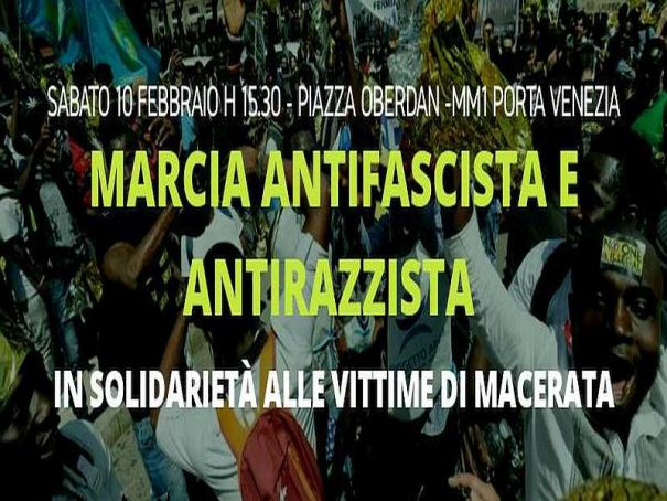 Milan activists plan anti-racism rally on Saturday