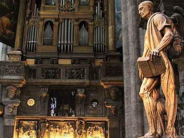 Easter concert in Milan's Duomo