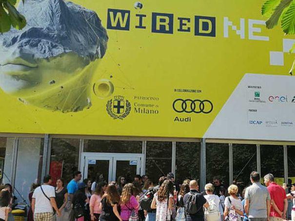 Wired Next Fest in Milan this week