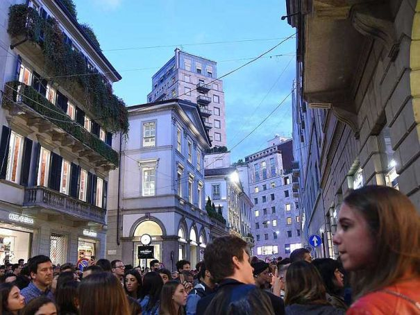 Vogue for Milano 2018 sees city dedicated to evening shopping