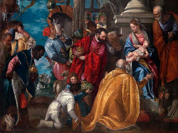 Veronese's Adoration of the Magi in Milan for Christmas