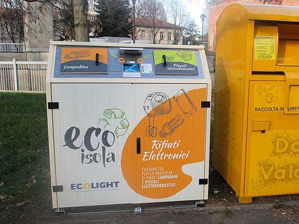 Milan doubles its smart bins for electronic waste