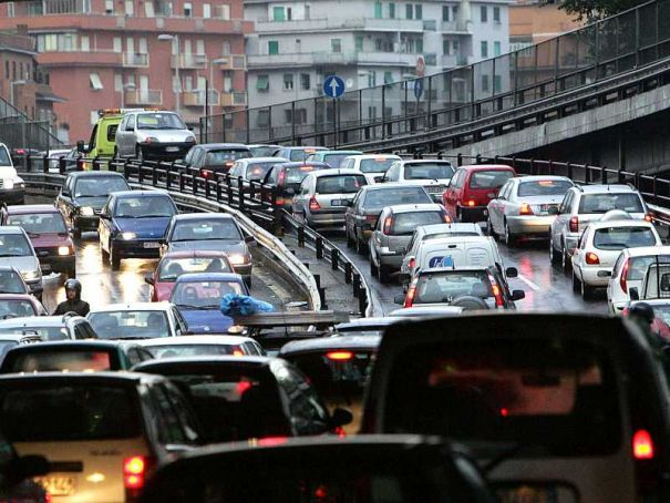 Milan seventh worst city for traffic jams