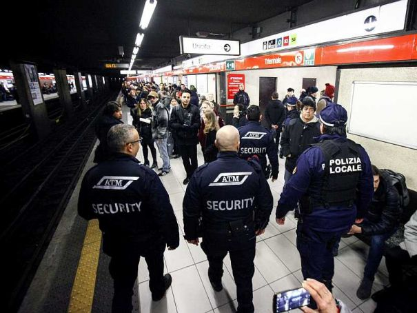 Milan boosts security on urban transport