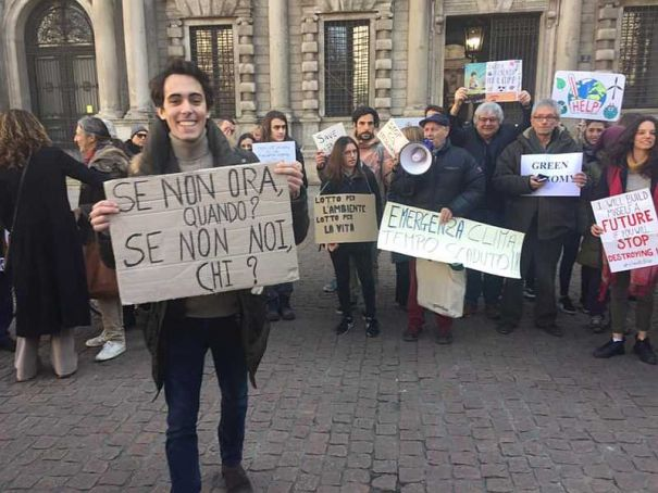 Hundreds expected at climate strike in Milan