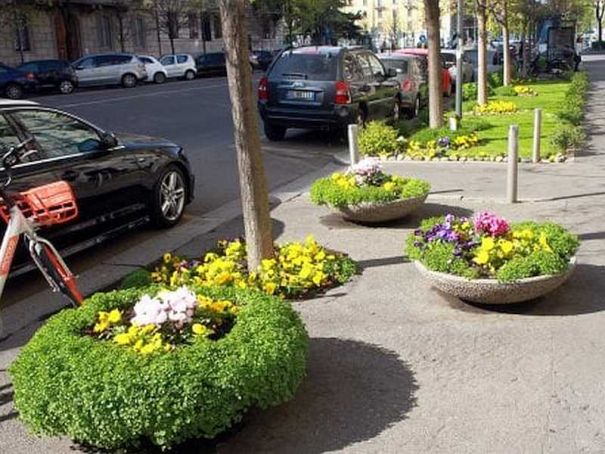 Milanese champions at caring for public gardens