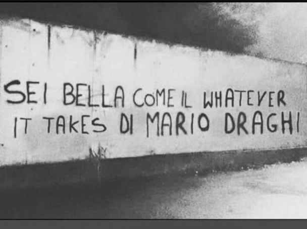 Mario Draghi's  whatever it takes enters Treccani encyclopedia