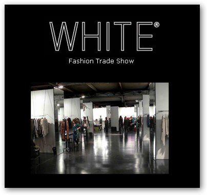 White 2013 contemporary fashion - image 1