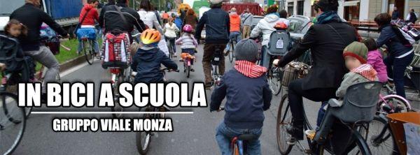 Bike to school day in Milan - image 2