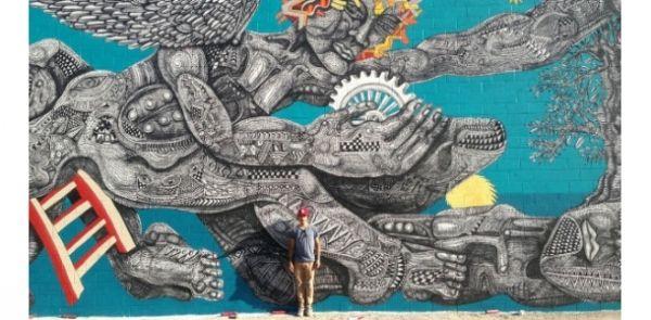 Street art in Milan metro - image 1