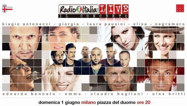 Radio Italia Live in Piazza Duomo - image 2