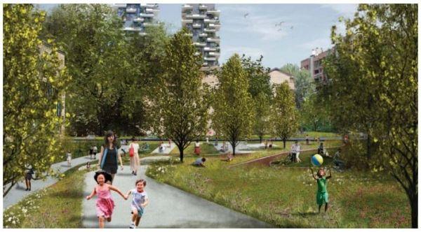 Milan's Bussa flyover to be a pedestrian garden - image 2